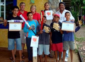 Baseball donation FLM+Rotary Club